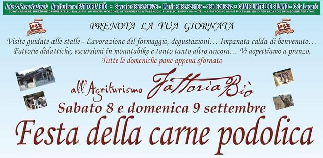 Festa della carne bovina Podolica